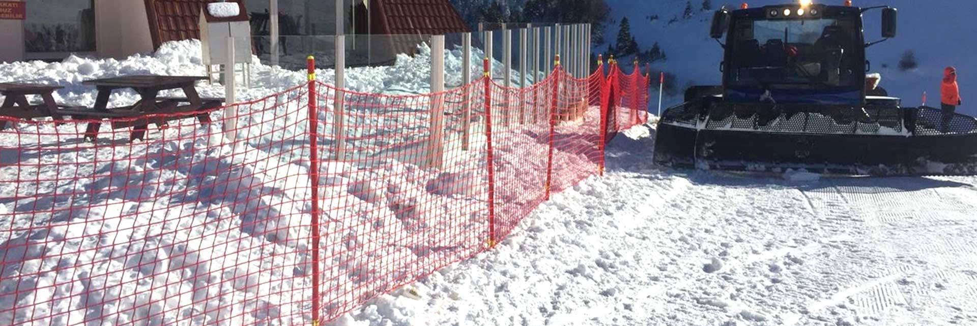 Safety Nets For Ski Tracks