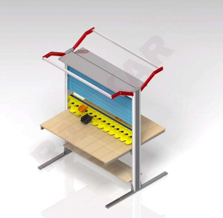Double-Sided Workbench
