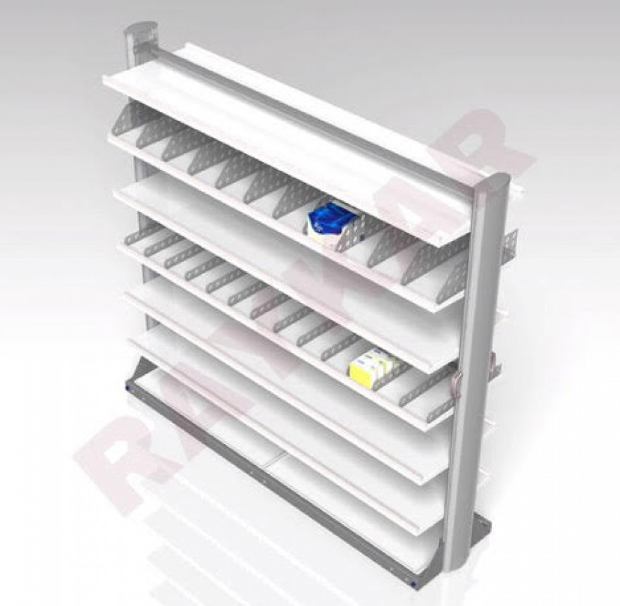 Shelved Medical Storage System